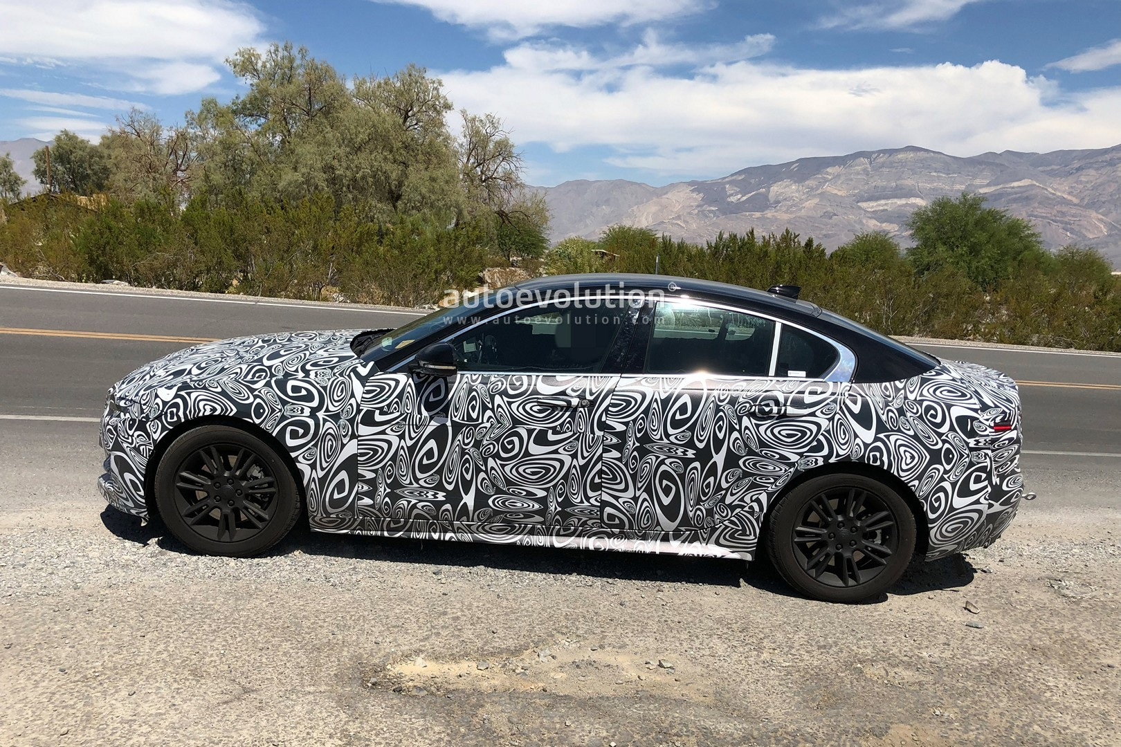 2020 Jaguar Xe Facelift Spied Testing In The Heat