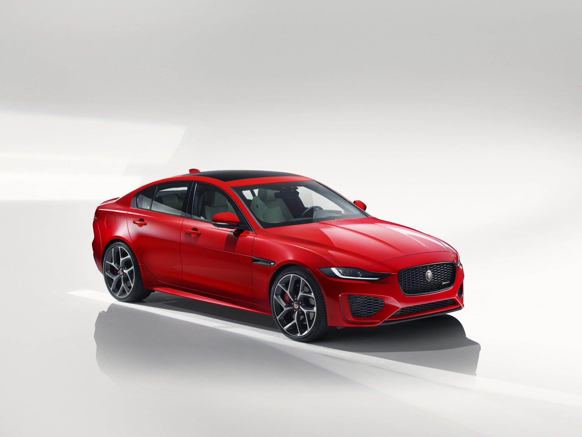 2020 jaguar xe revealed facelifted model drops v6 engine