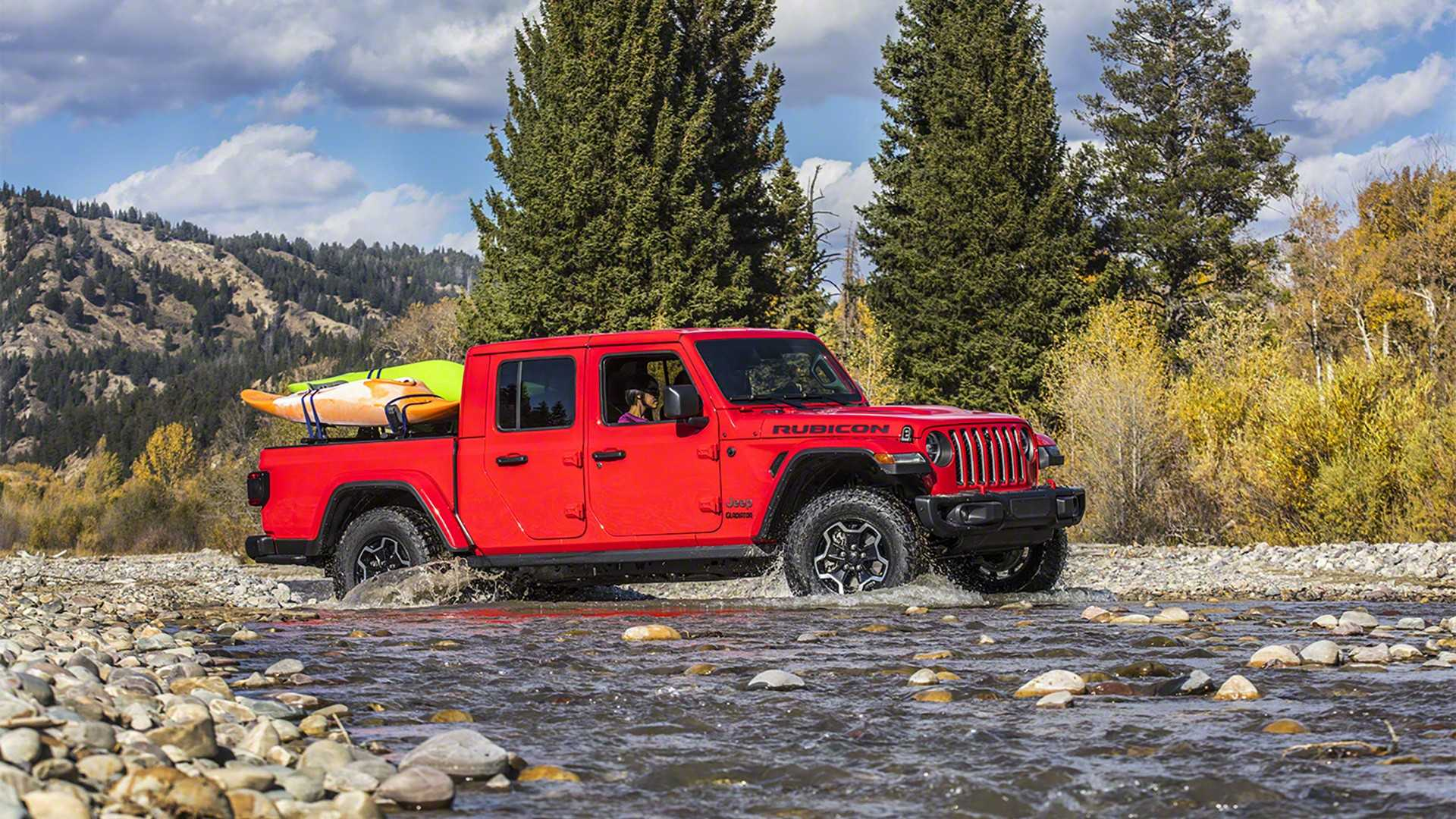 2020 jeep gladiator goes official with best-in-class towing capacity
