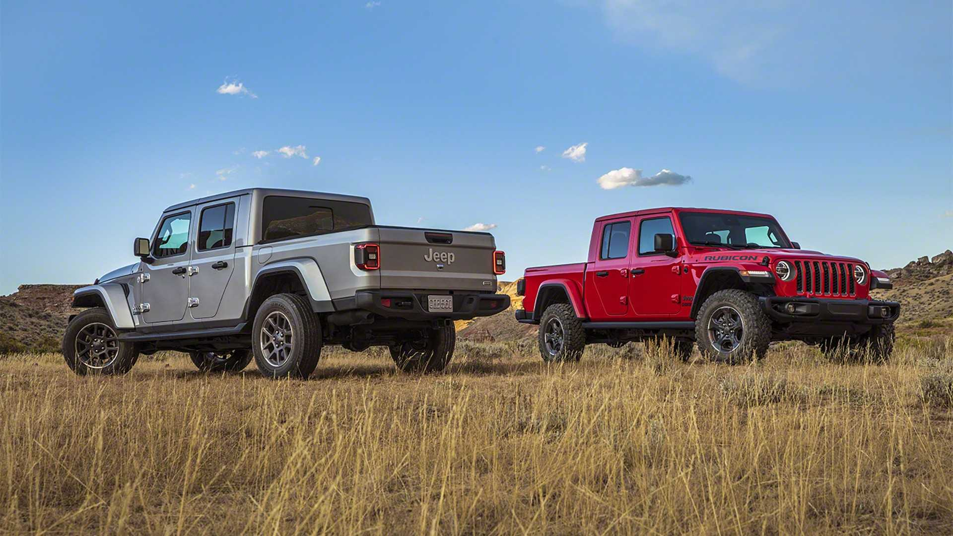 Jeep Towing Capacity >> 2020 Jeep Gladiator Goes Official With Best-In-Class Towing Capacity - autoevolution