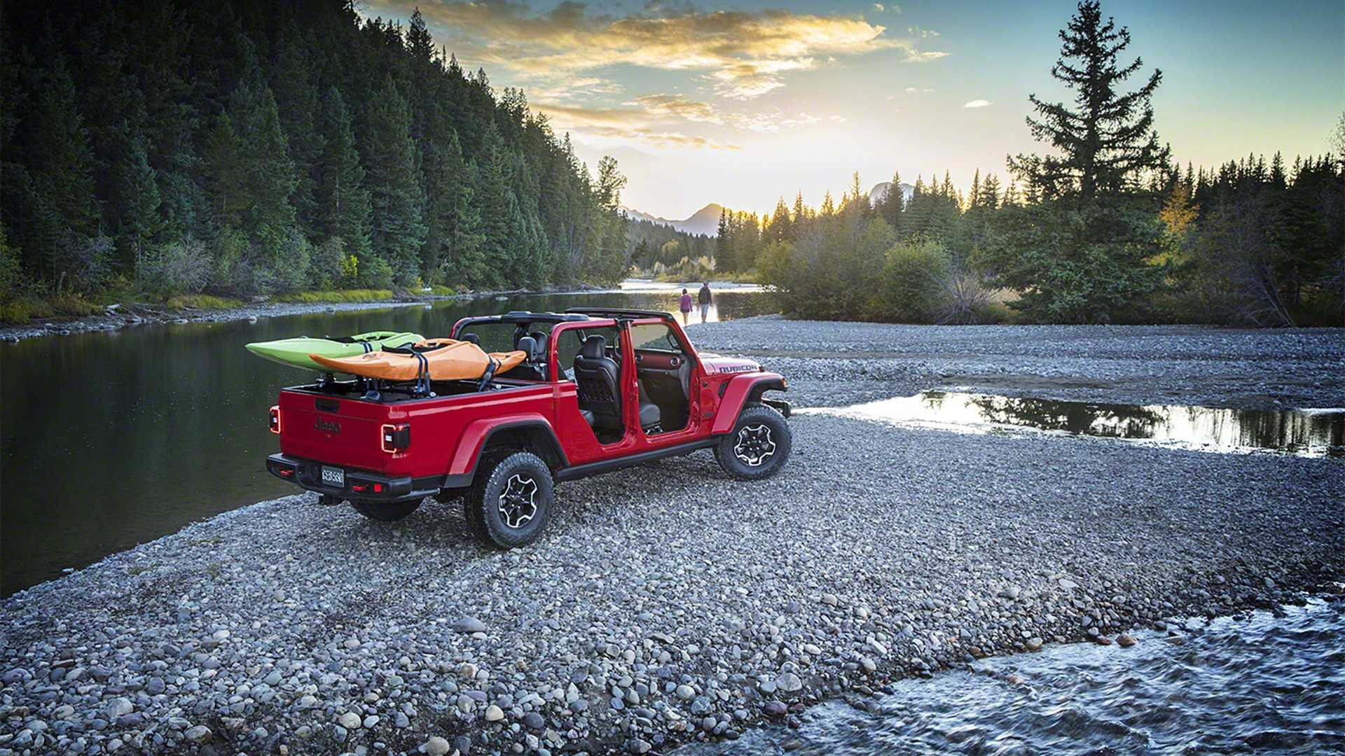 What Is The Towing Capacity Of A Jeep Wrangler >> 2020 Jeep Gladiator Goes Official With Best-In-Class Towing Capacity - autoevolution