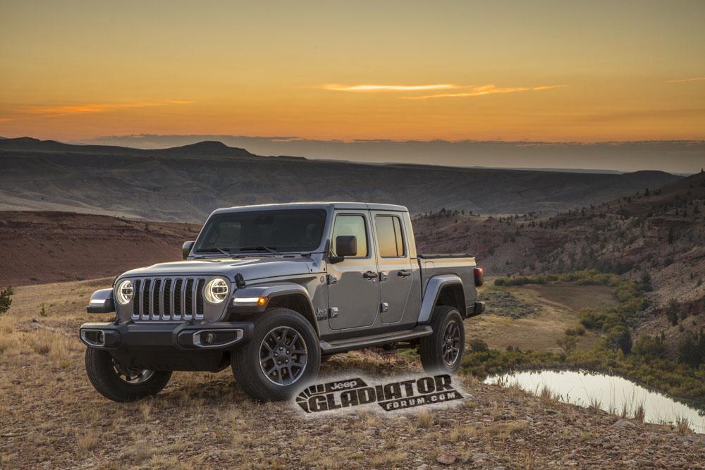 2020 jeep gladiator pickup truck rendered as 6x6 conversion autoevolution. Black Bedroom Furniture Sets. Home Design Ideas