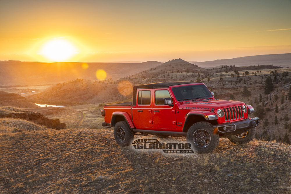 2020 Jeep Gladiator Pickup Truck Rendered As 6x6 ...