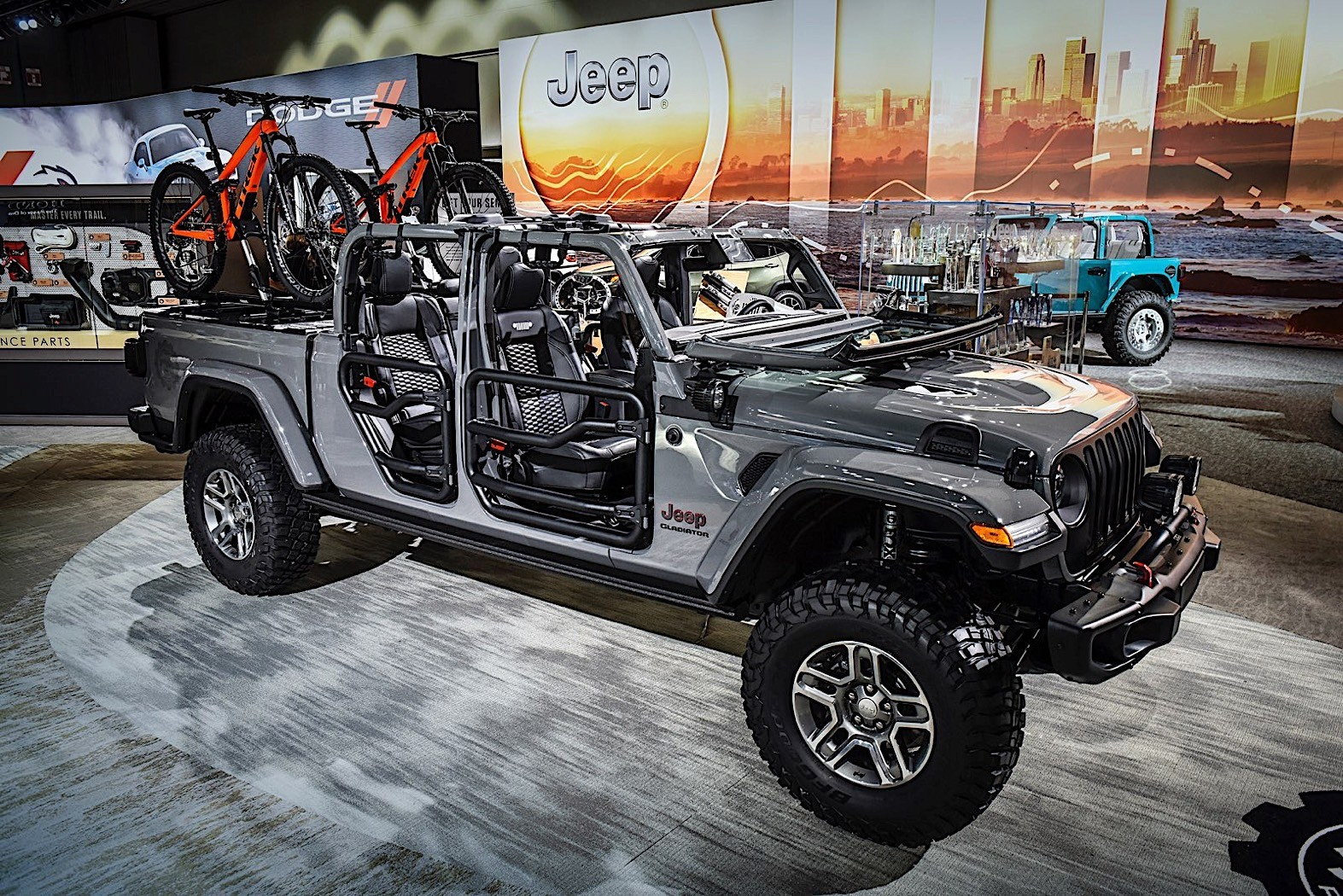 2020 Jeep Gladiator Weaponized By Mopar In Los Angeles