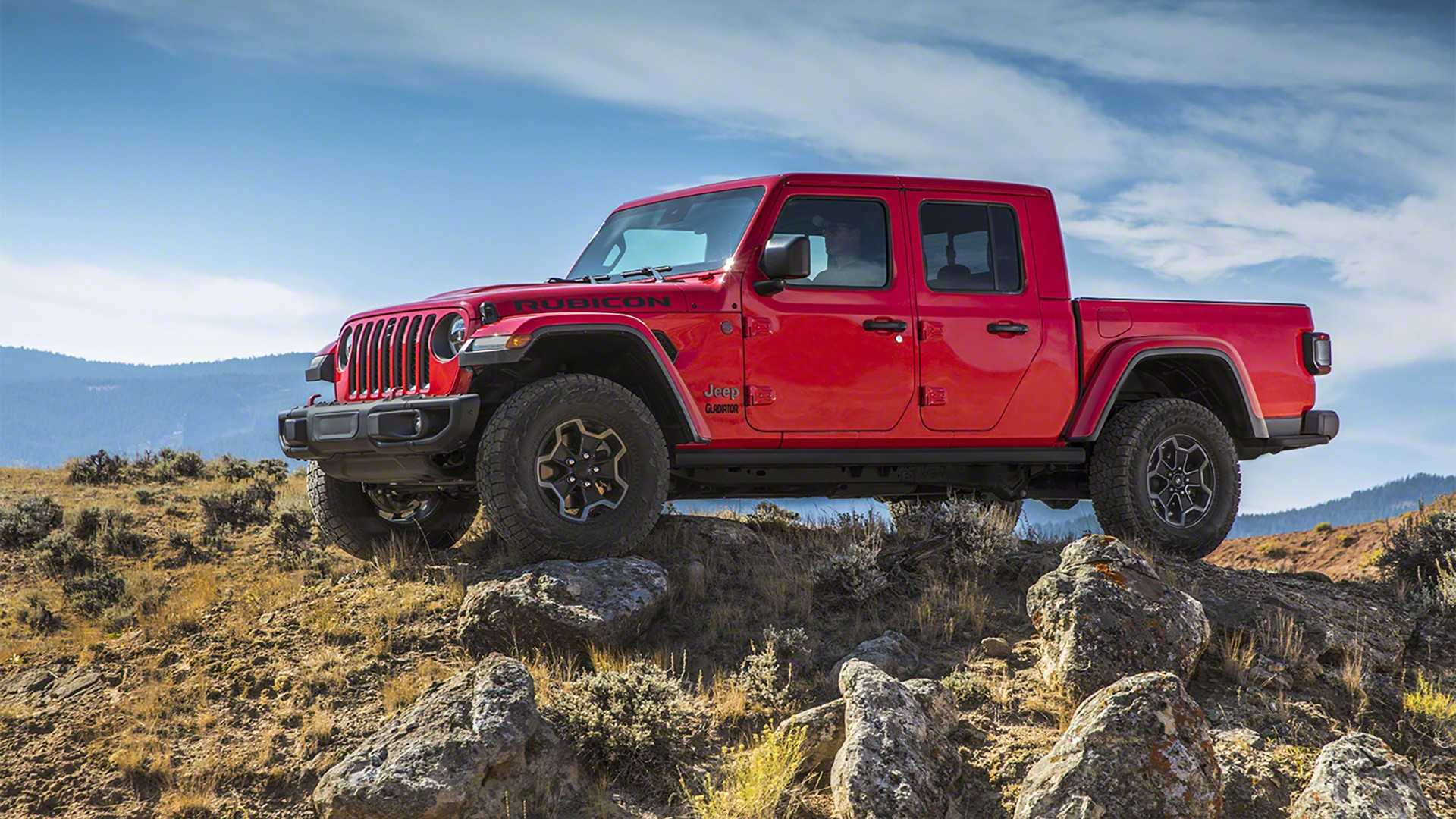 2020 Jeep Gladiator pickup truck