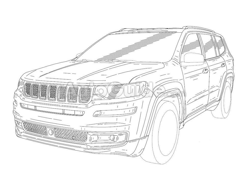 2020 Jeep Grand Wagoneer (Alleged) Design Leaked through ...