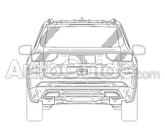 2020 jeep grand wagoneer  alleged  design leaked through