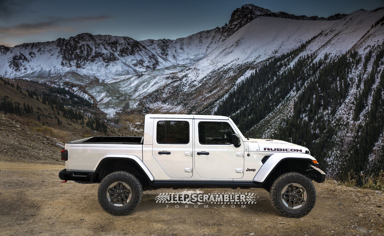 Sunrider Jeep Top >> 2020 Jeep Scrambler Pickup Rendered With Hard Top, Soft Top - autoevolution
