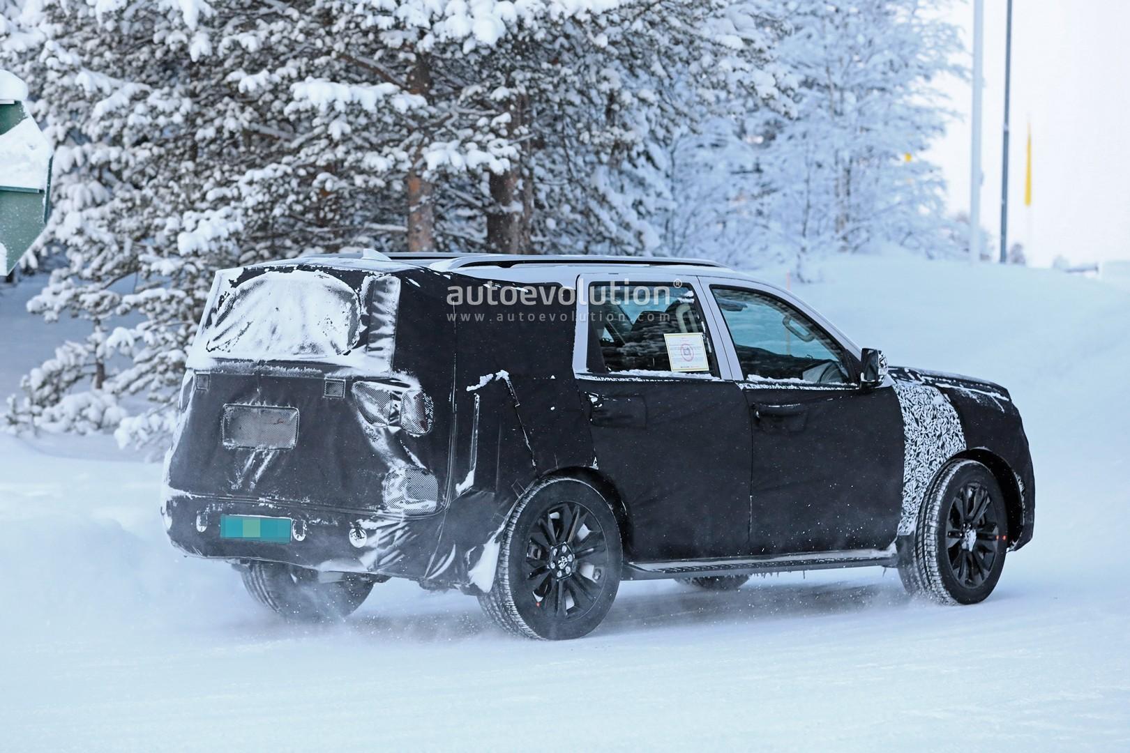 2020 Kia Mohave Borrego Spied Winter Testing Looks Like