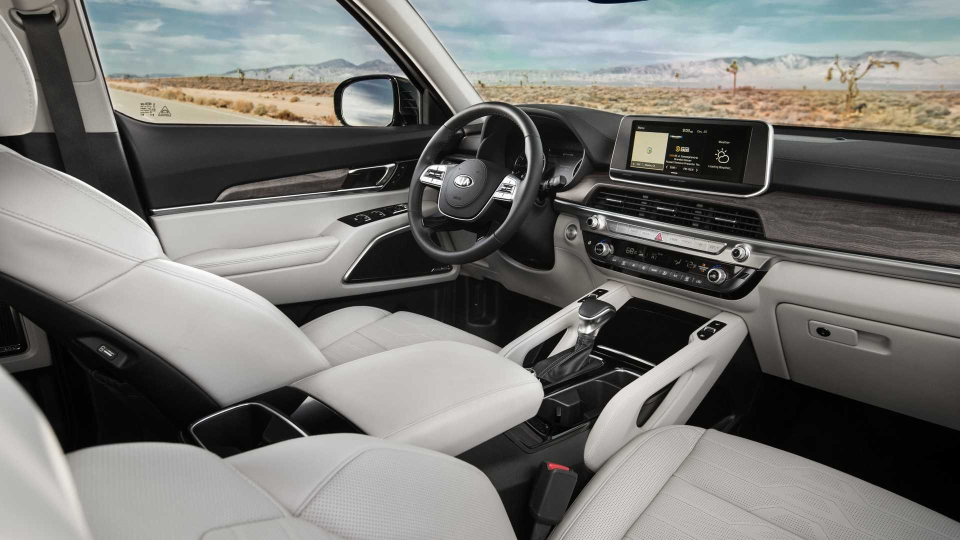 2020 Kia Telluride Comes Standard With 3.8L V6 - autoevolution