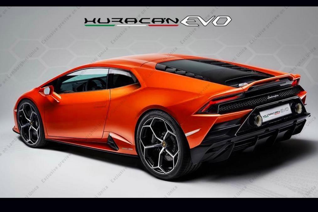 2020 Lamborghini Huracan Evo Shows Off Redesigned Rear