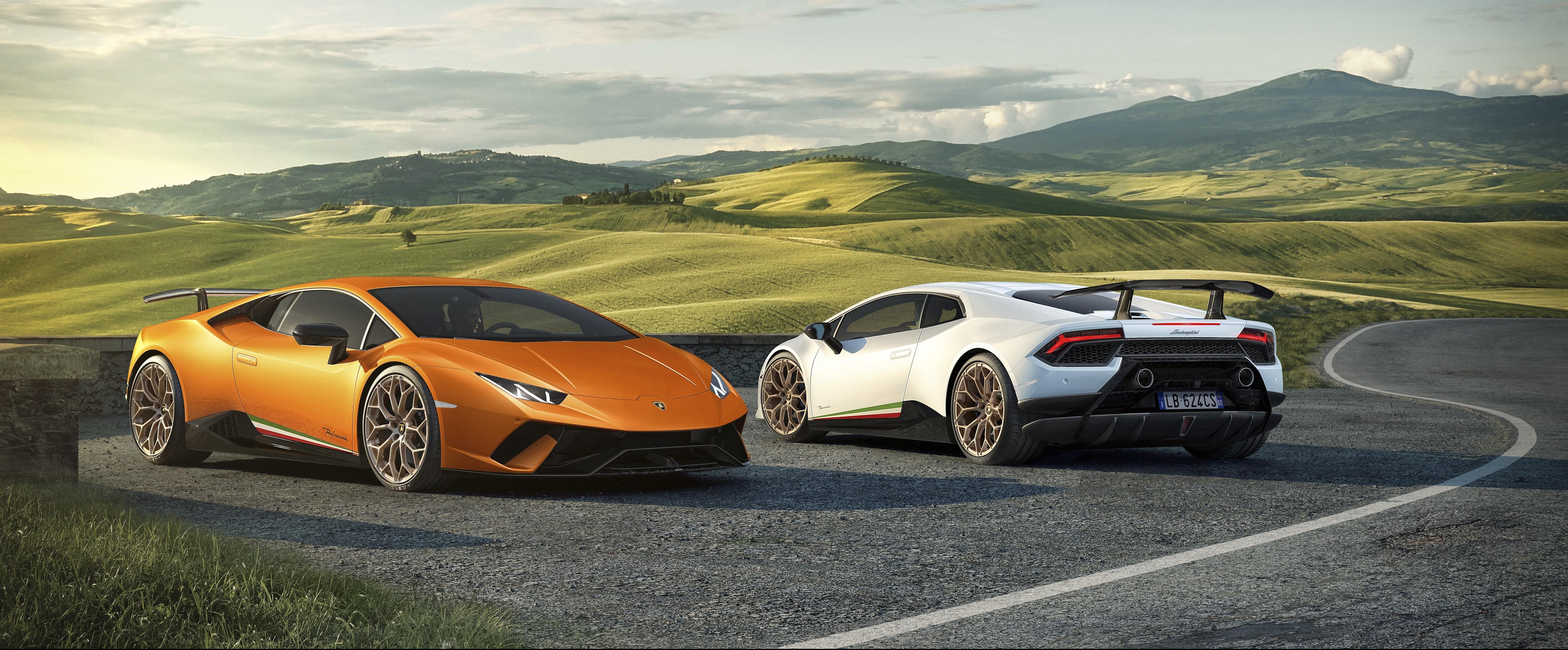 2020 Lamborghini Huracan Evo Shows Off Redesigned Rear Fascia