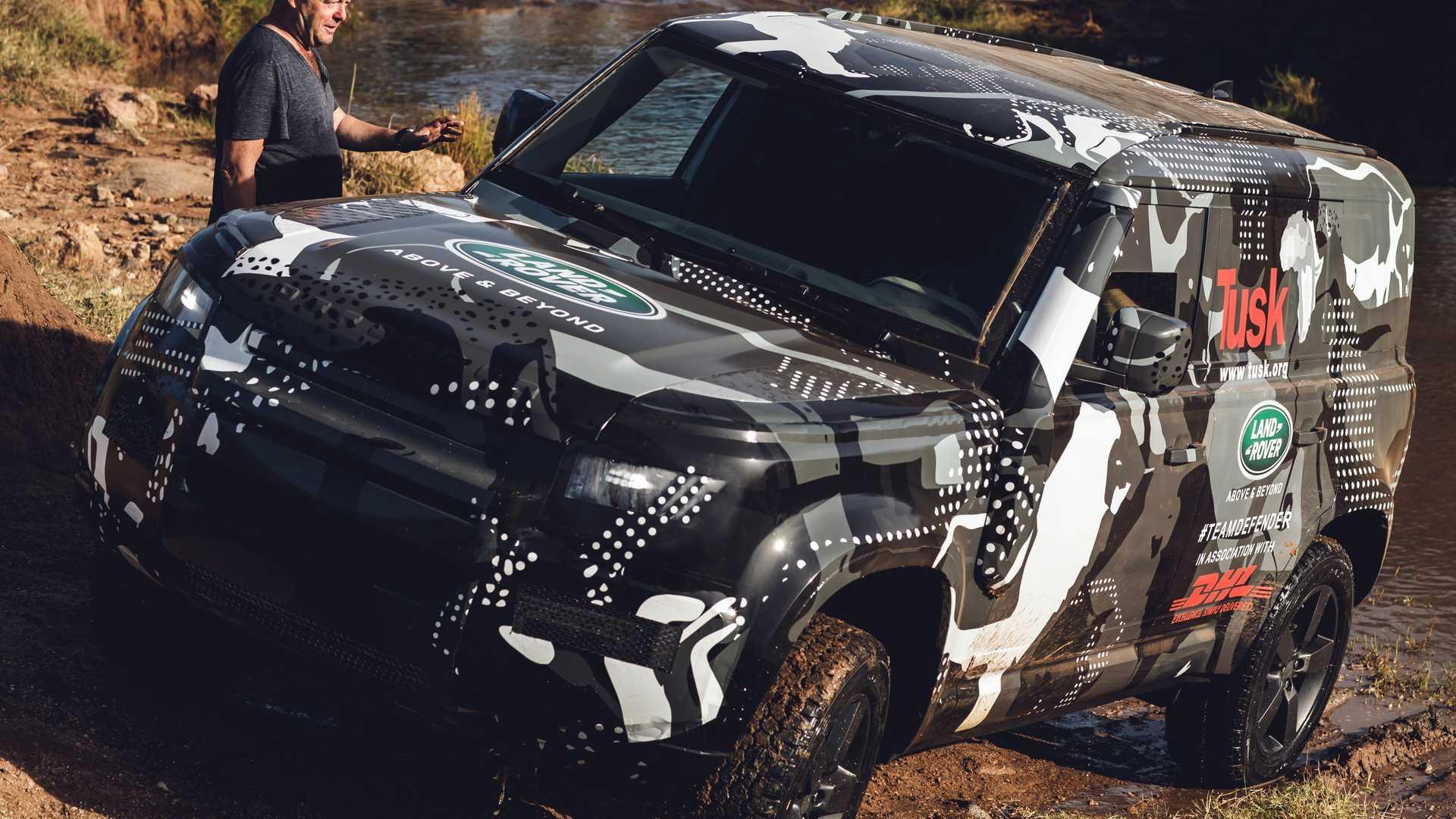 2020 Land Rover Defender Confirmed With Mild-Hybrid, Plug