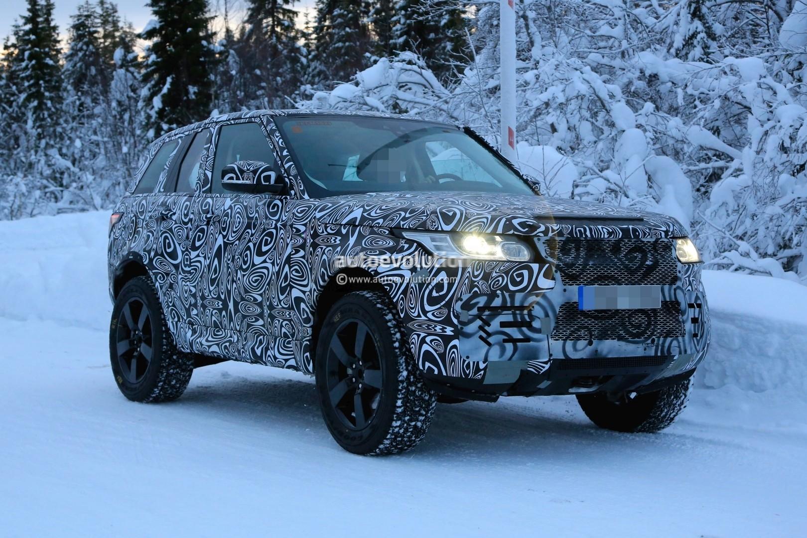 Spyshots: 2020 Land Rover Defender Makes Debut as Petite ...