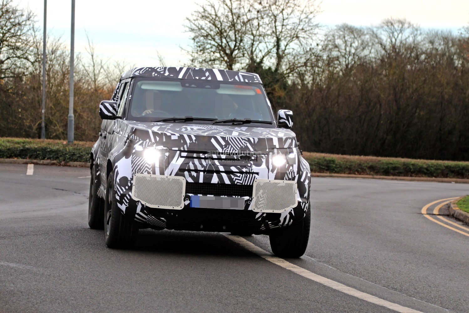 2020 Land Rover Defender >> 2020 Land Rover Defender Spied, Transitions To Unibody Construction - autoevolution