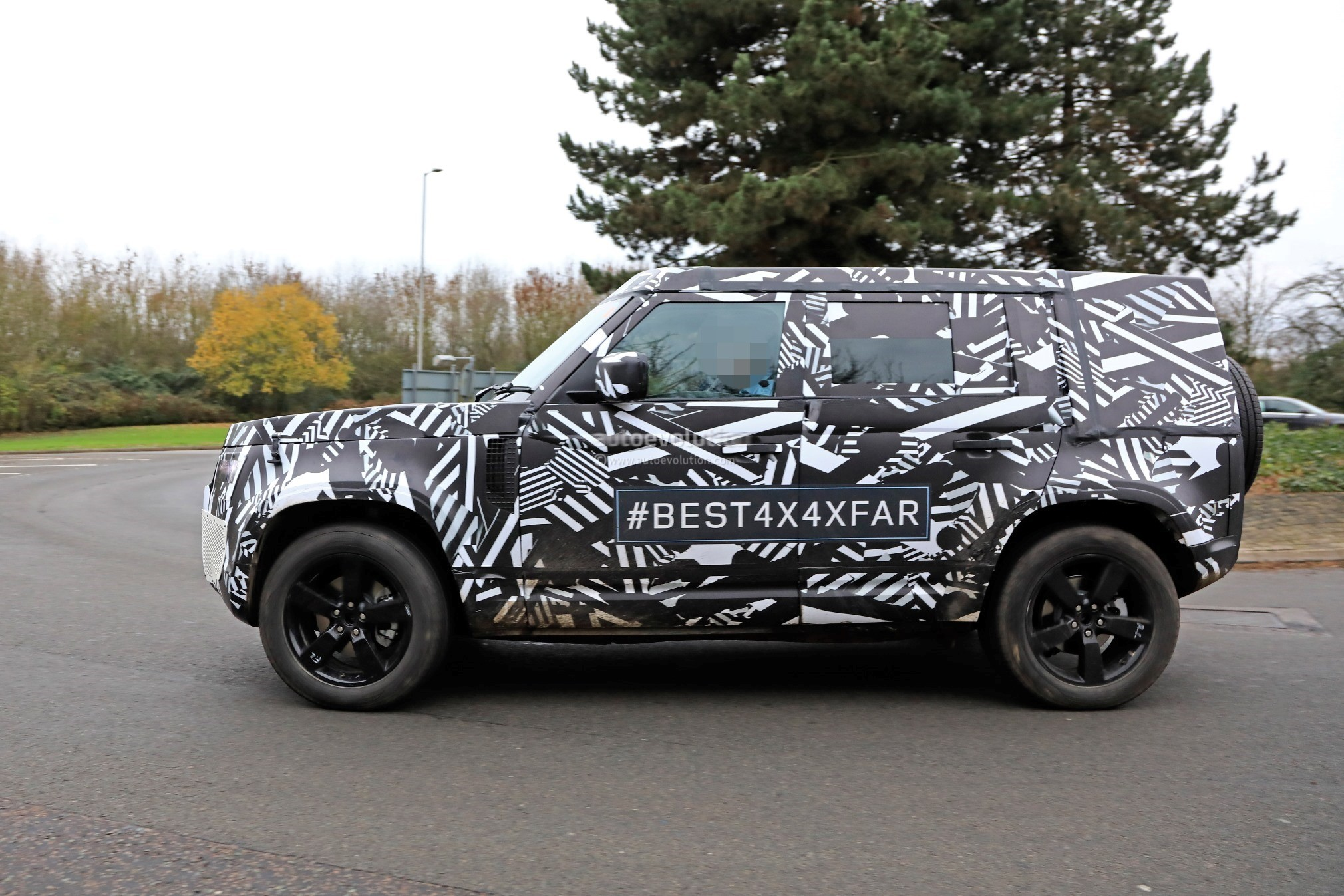 2020 Land Rover Defender Spied Transitions To Unibody