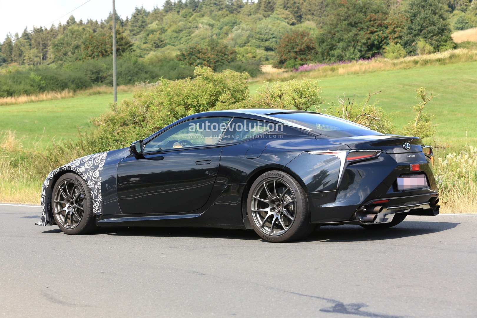 2020 Lexus LC F Spied for the First Time, Looks to Become ...