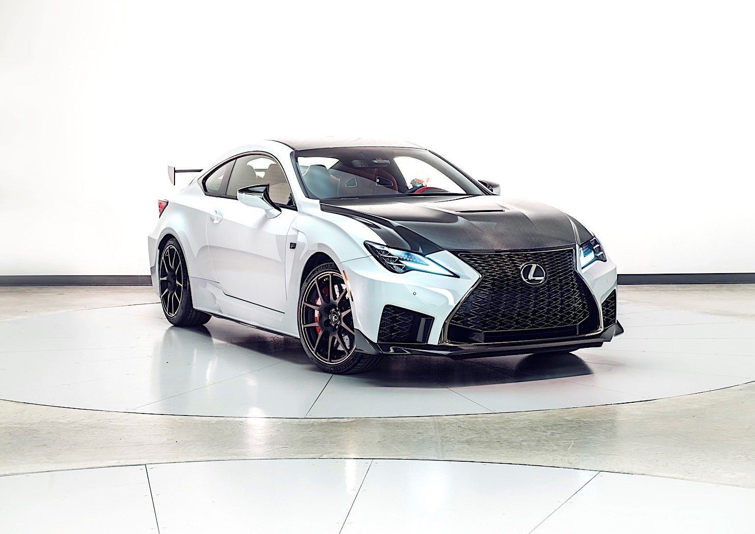2020 Lexus Rc F Readies For Detroit Auto Show Debut With