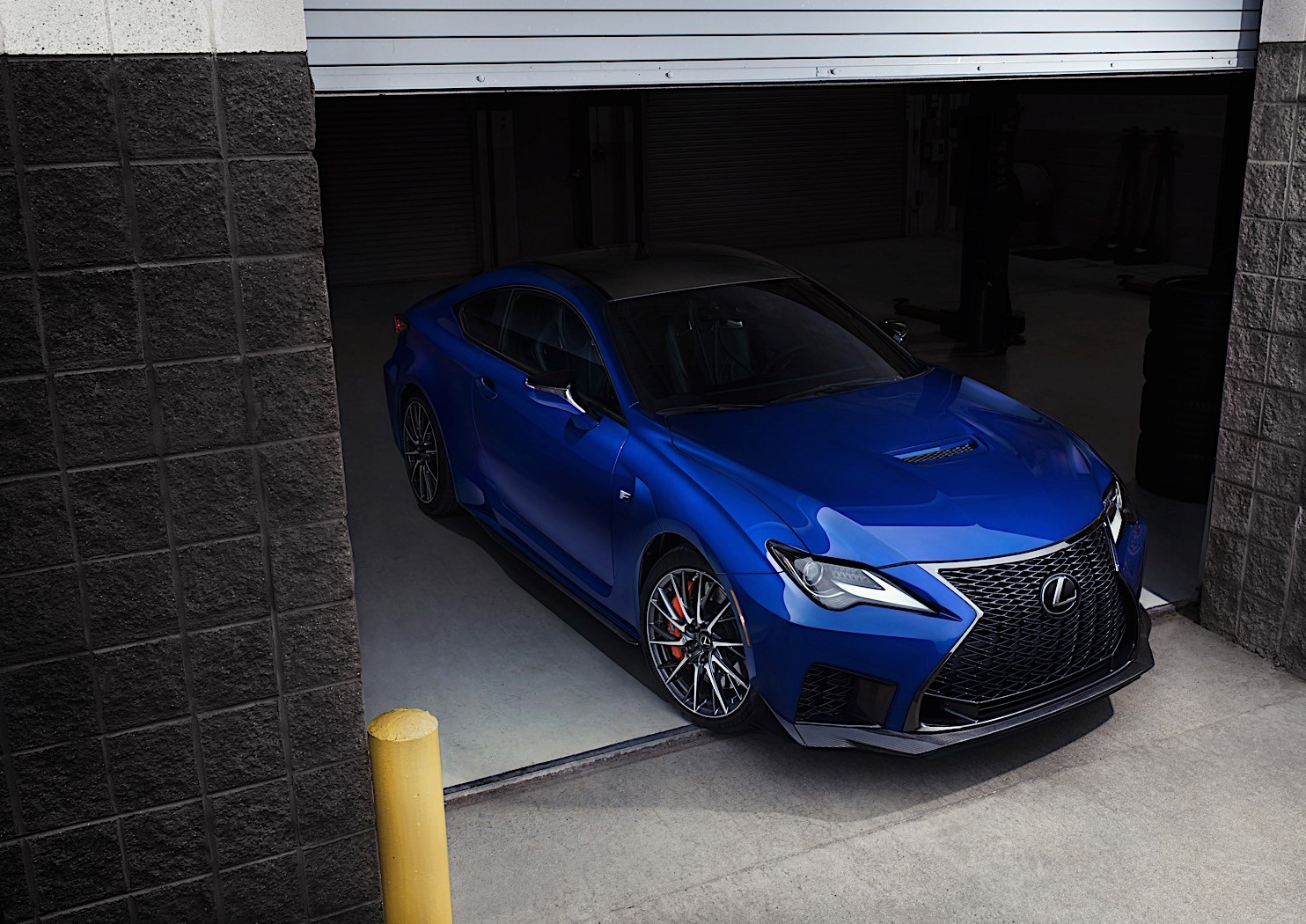 2020 lexus rc f readies for detroit auto show debut with track edition
