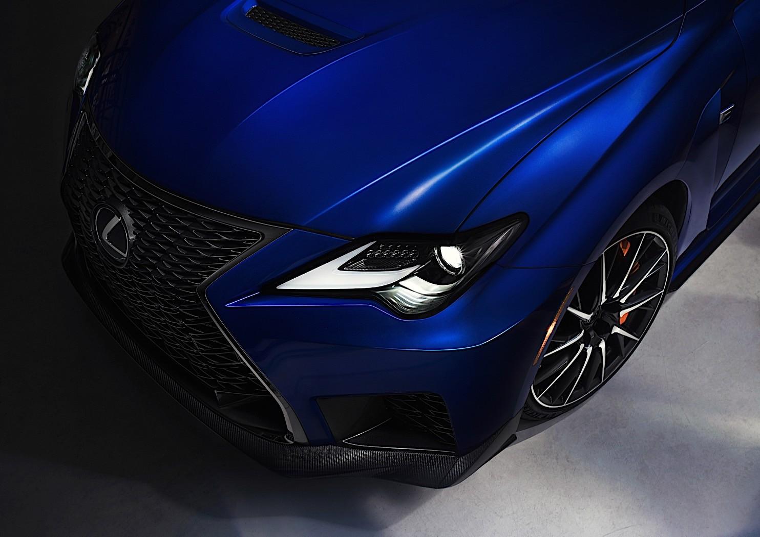 2020 Lexus Rc F Readies For Detroit Auto Show Debut With Track Edition Autoevolution