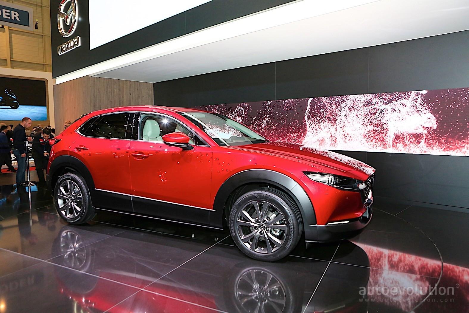 2020 Mazda Cx 30 Crossover Fills Gaps In Geneva