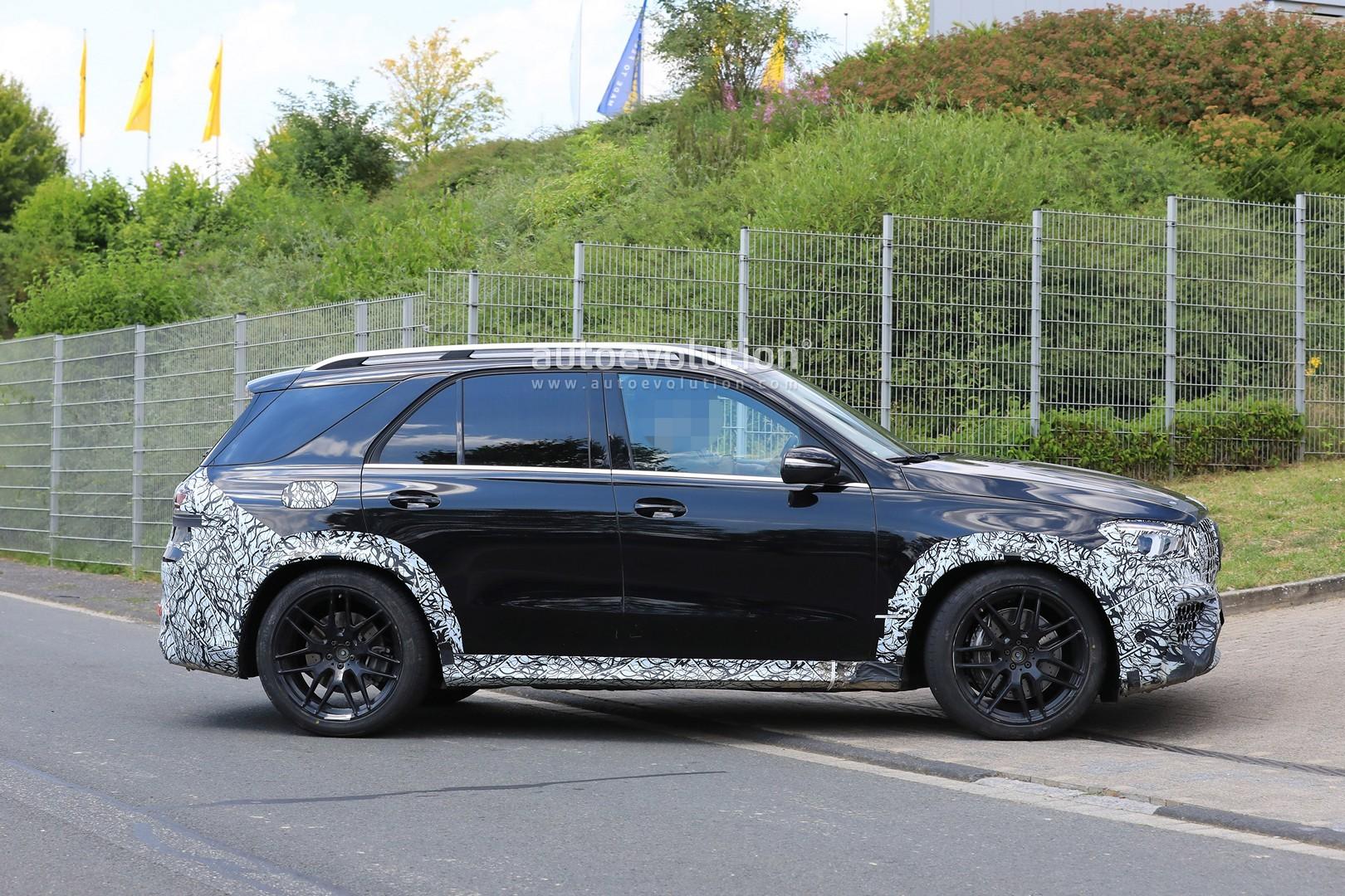 Spyshots: 2020 Mercedes-AMG GLE 63 Looks Chunky With Less ...
