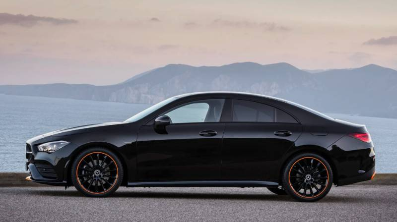New Mercedes-Benz CLA Struts in Las Vegas with Flair