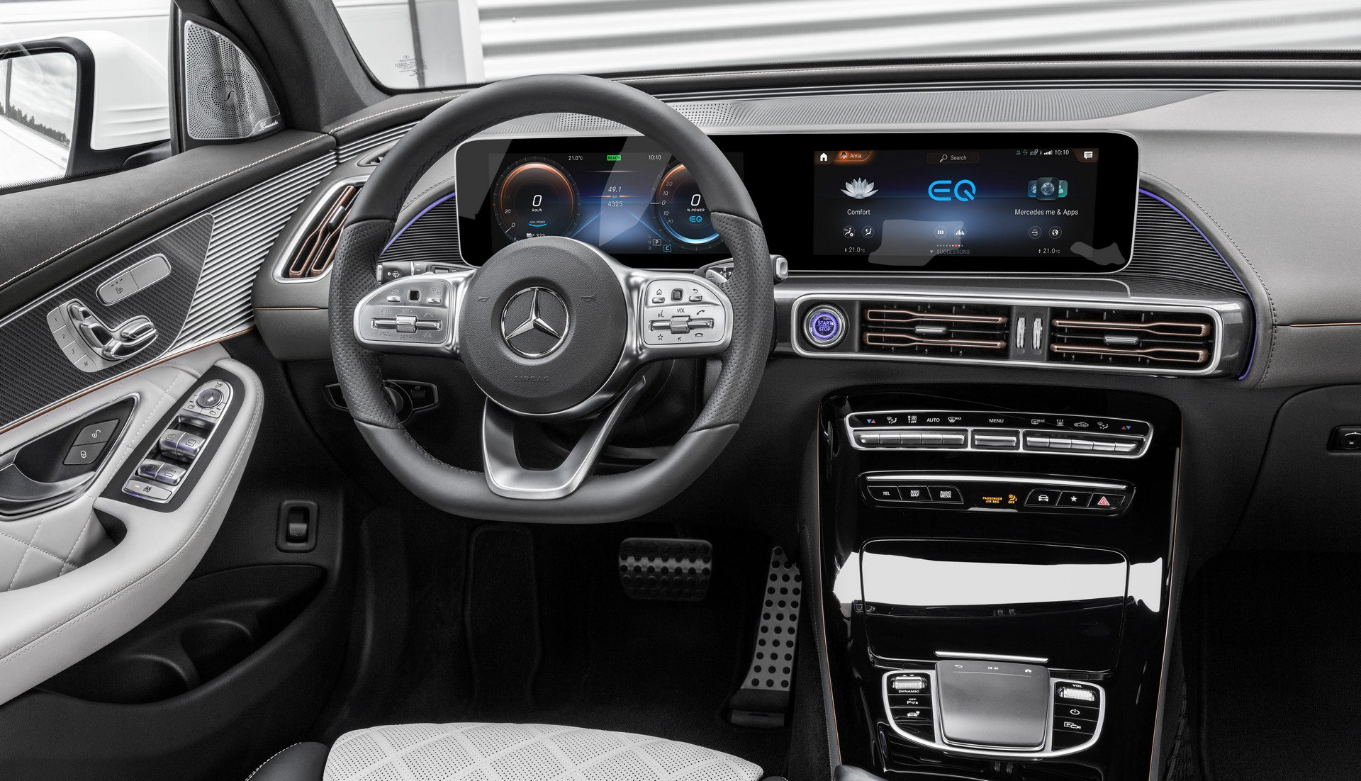 A Short Guide on How to Charge the Mercedes-Benz EQC ...