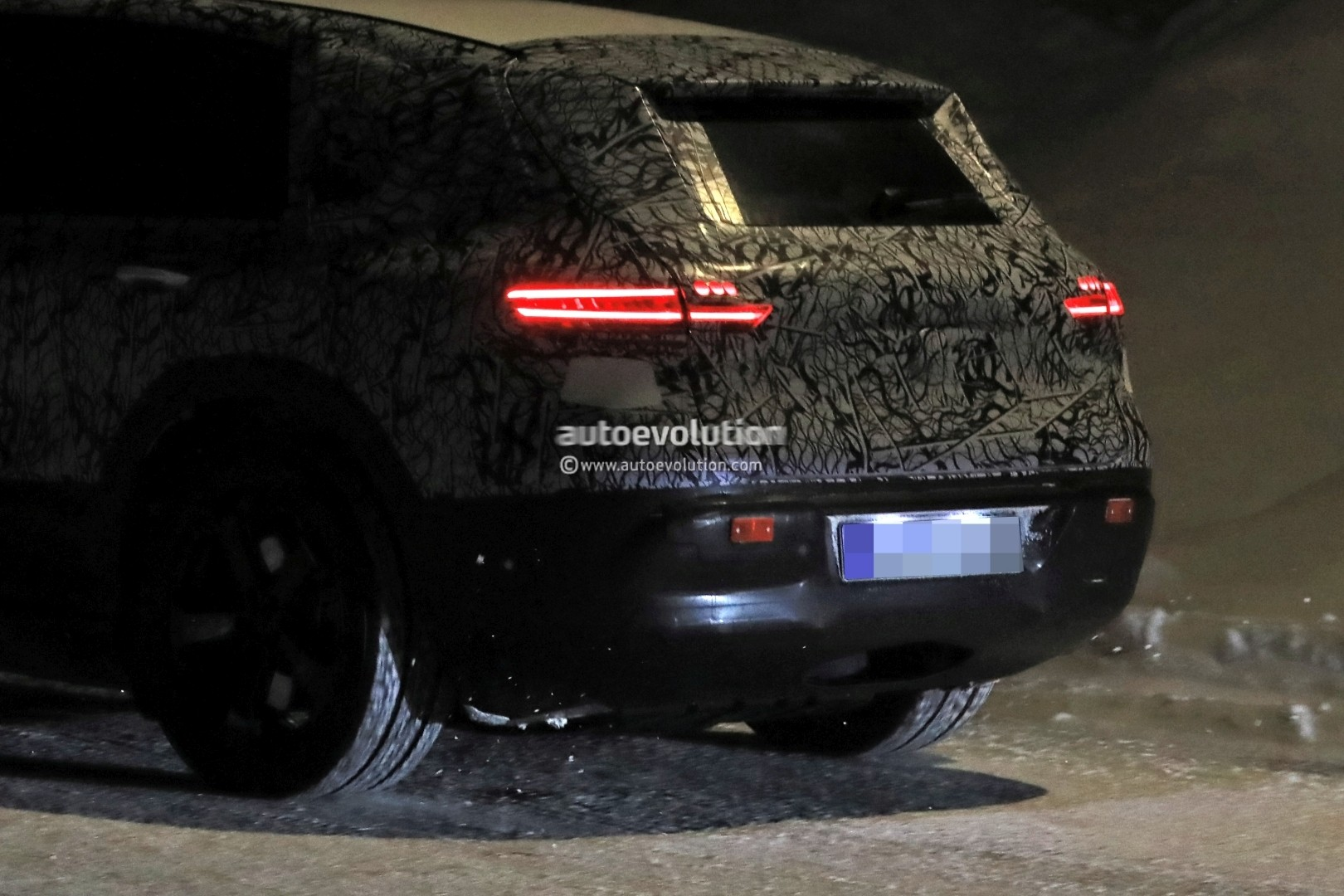 2020 Mercedes Benz Eqc Electric Suv Makes Spyshot Debut