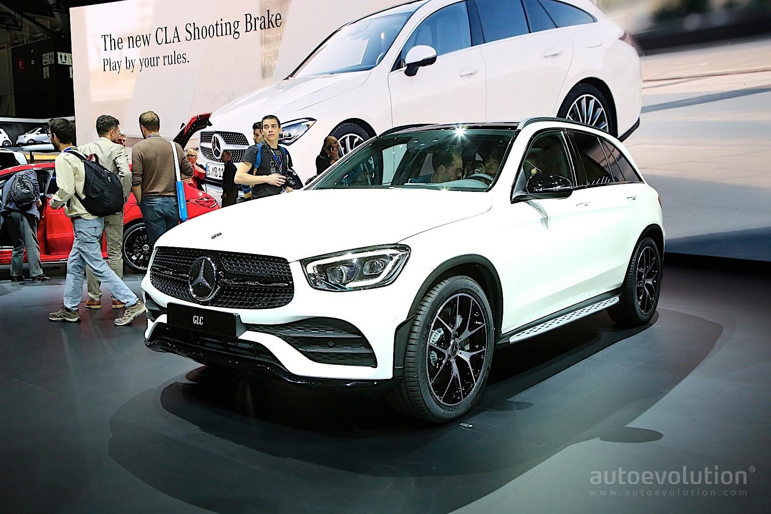 Mercedes Benz Cla >> 2020 Mercedes-Benz GLC Looks Lonely Next to the CLA in Geneva - autoevolution