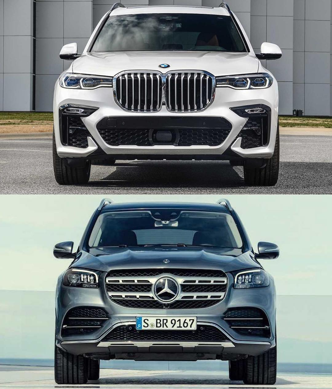 2020 Mercedes-Benz GLS-Class Vs. BMW X7: Big Luxury SUV