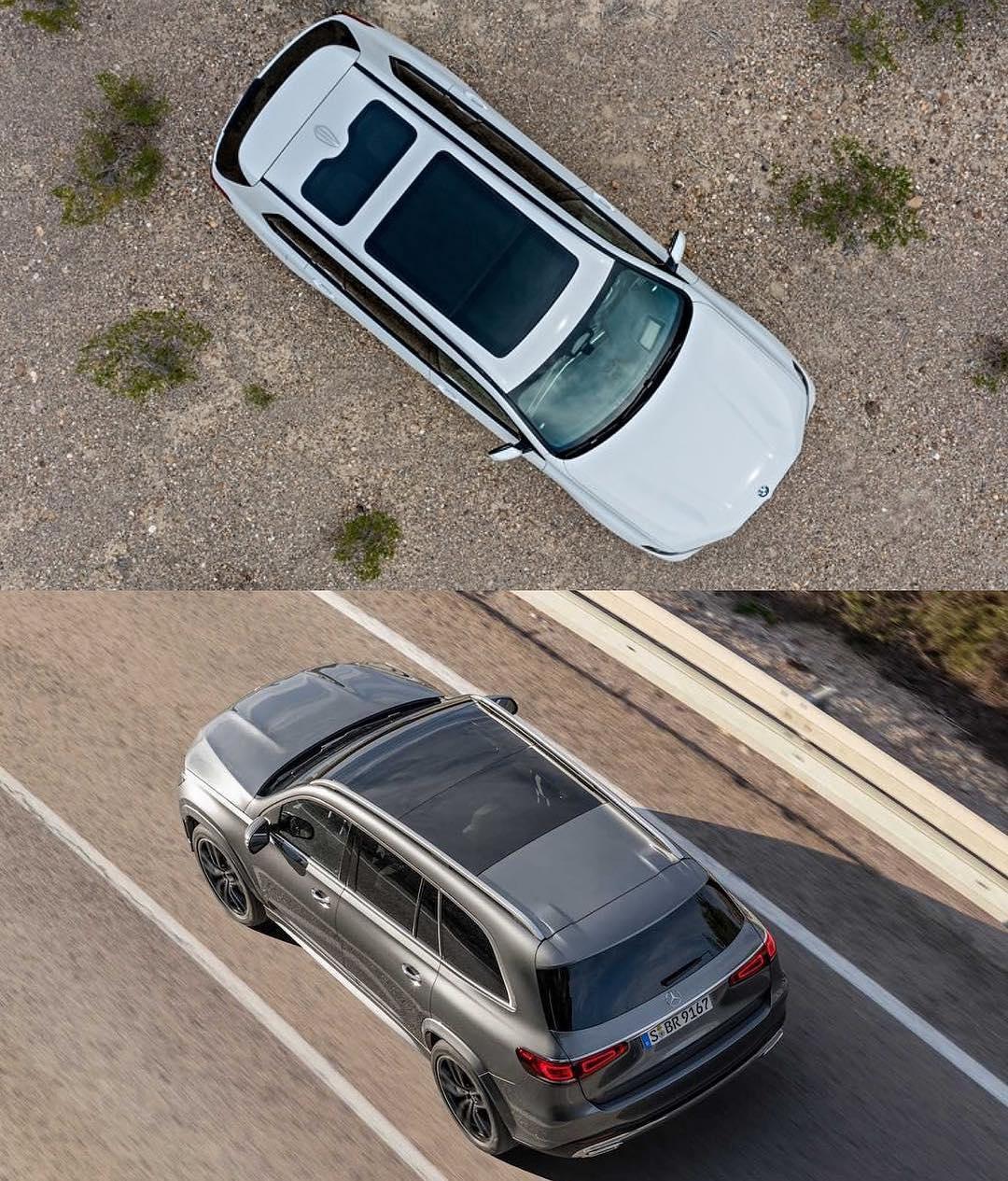 2020 Mercedes-Benz GLS-Class Vs. BMW X7: Big Luxury SUV