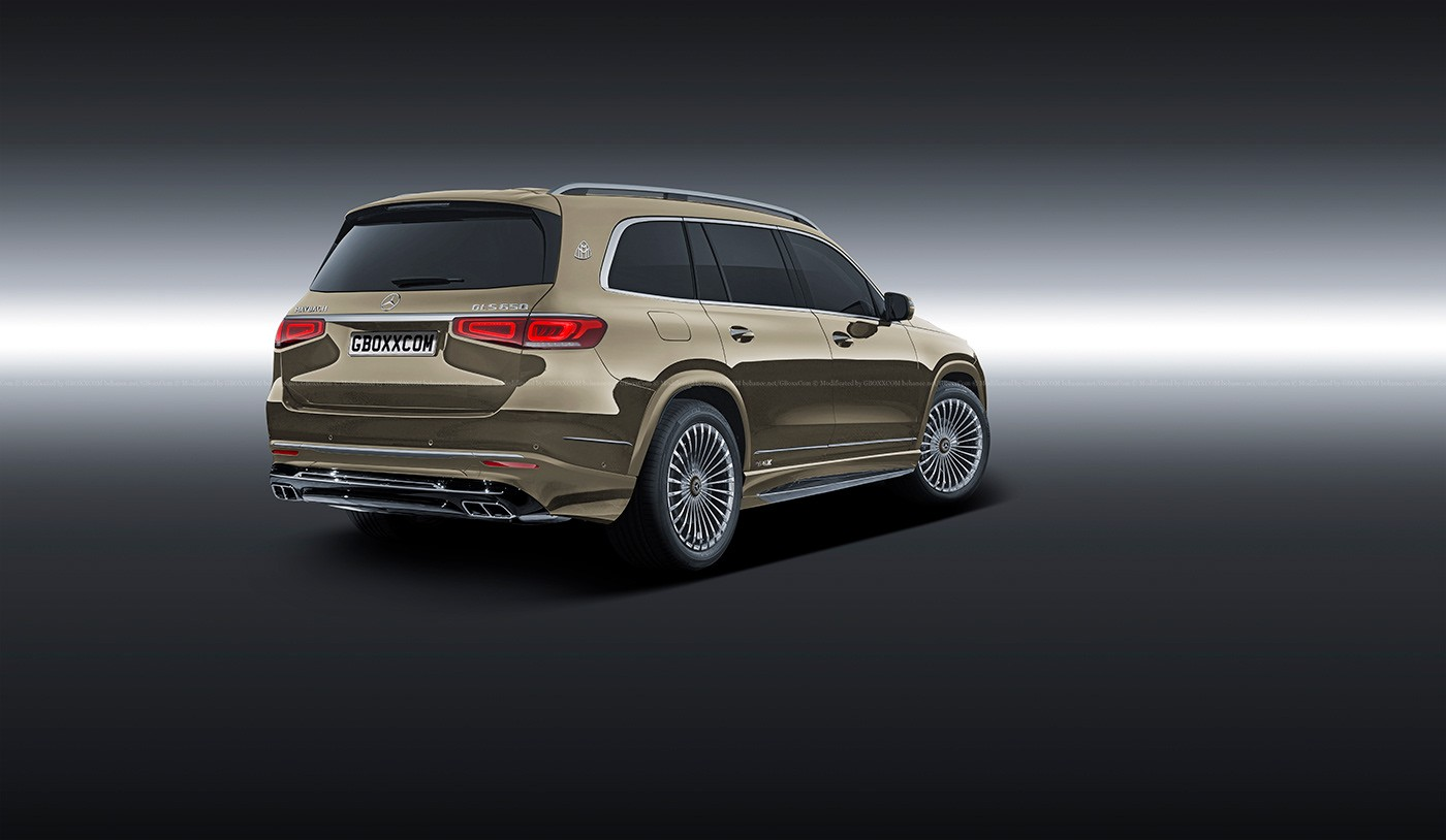 2020 Mercedes-Benz GLS Rendered as Maybach and GLS 63 AMG ...