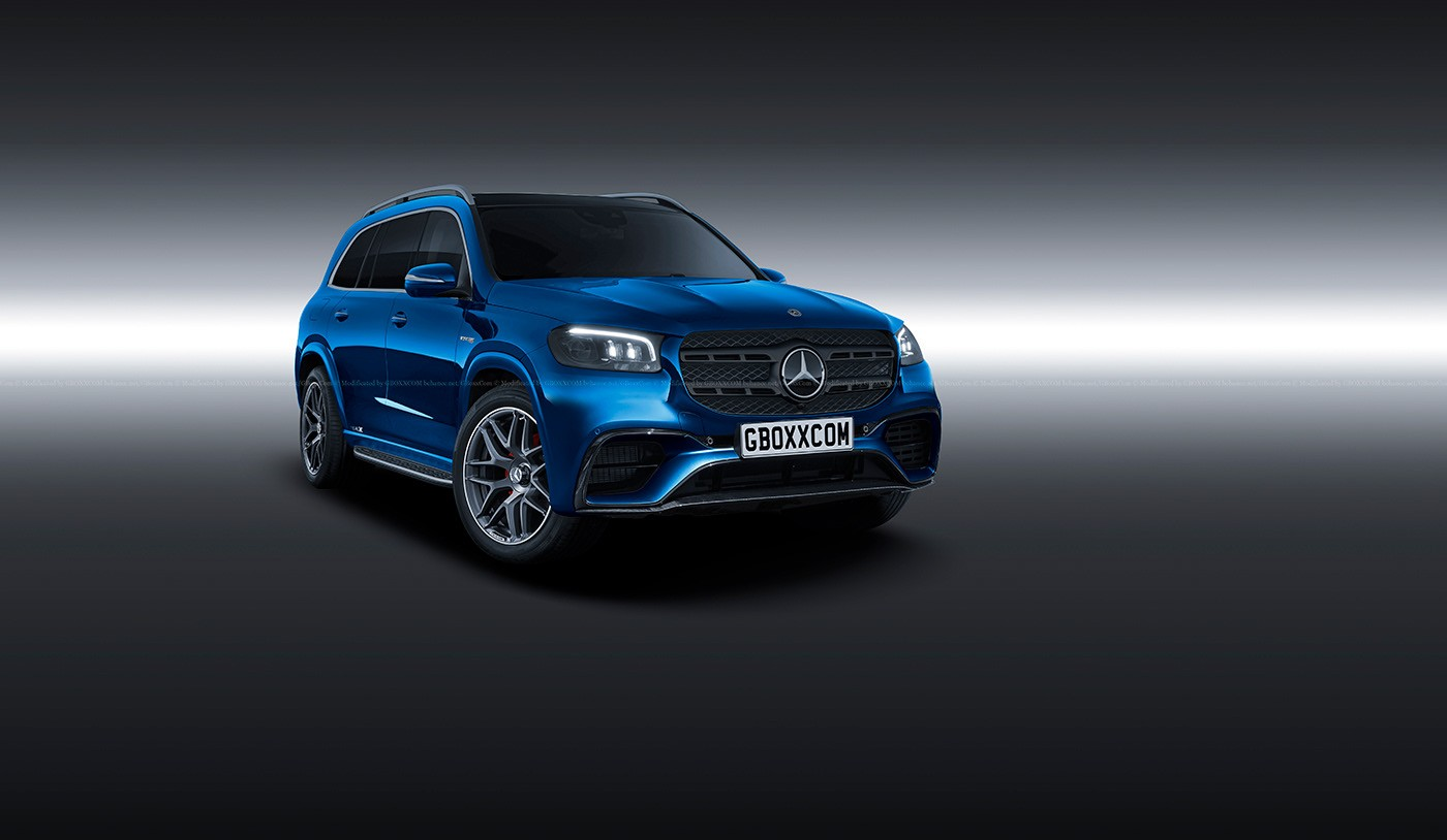 2020 mercedes gls filmed in germany  might look better than gle