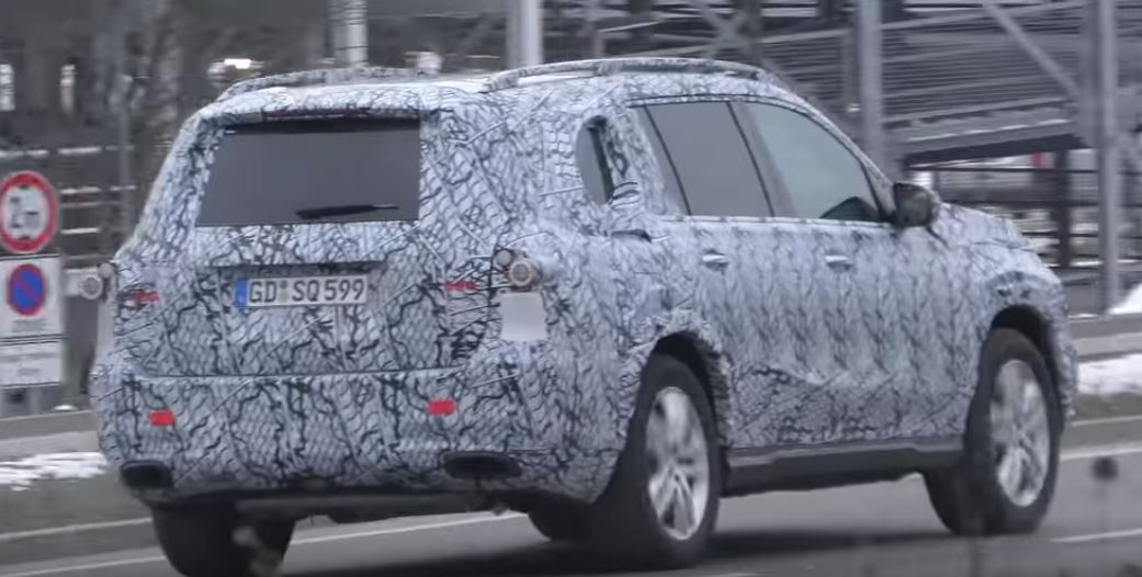 2020 Mercedes Benz Gls Spied Mercedes Maybach Version Rumored