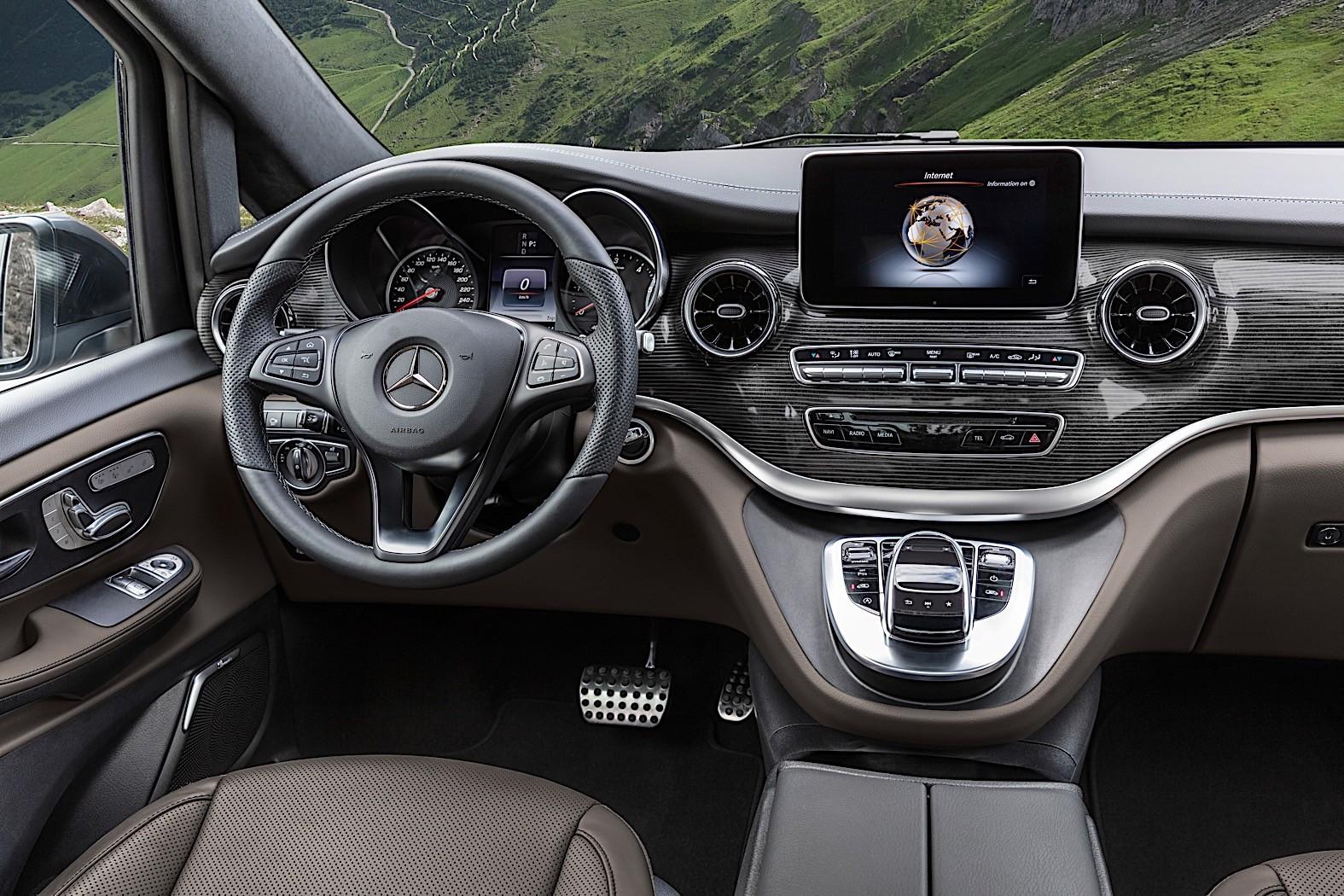 2020 mercedes-benz v-class facelift breaks cover