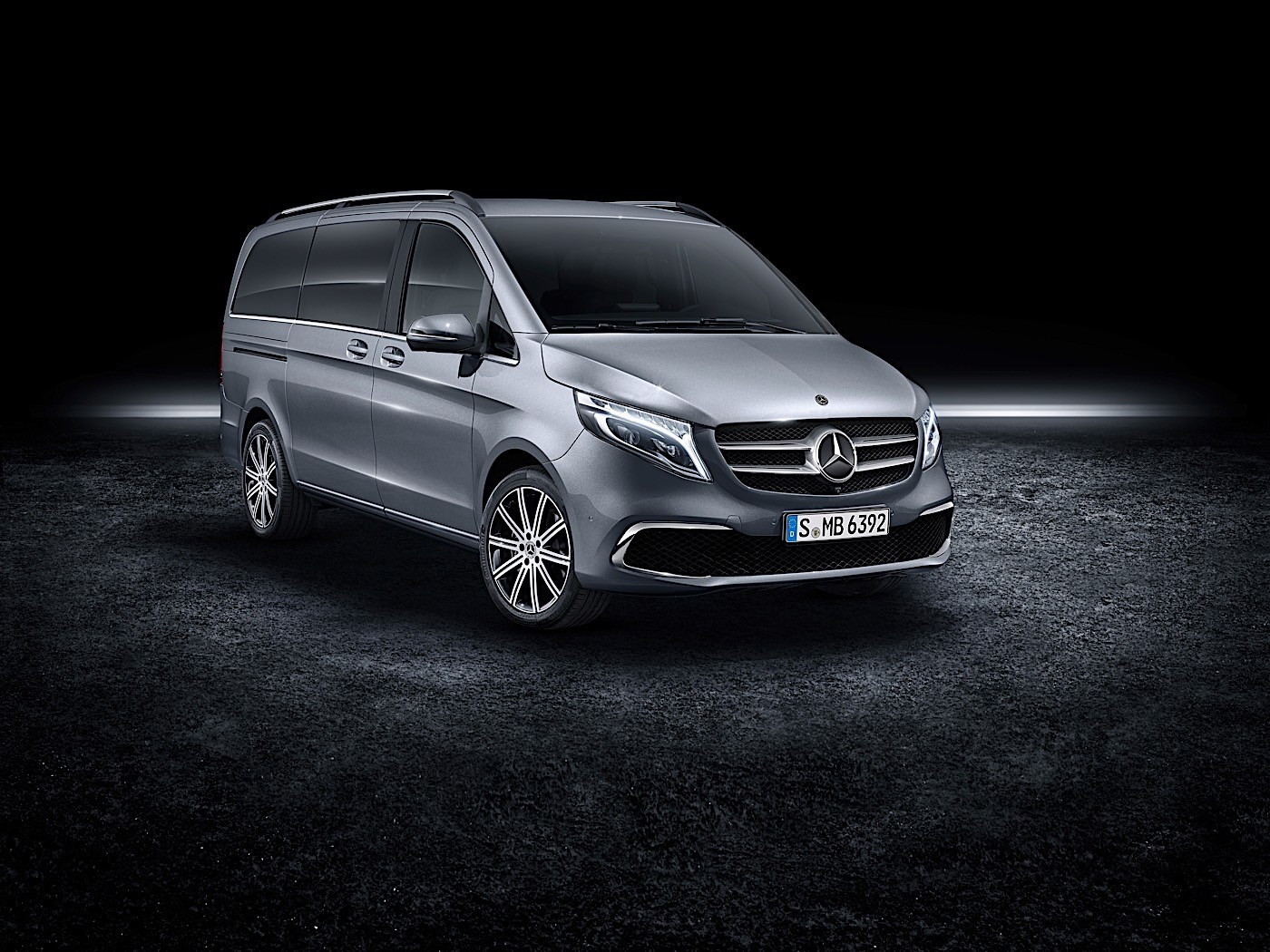 2020 mercedes benz v class facelift breaks cover. Black Bedroom Furniture Sets. Home Design Ideas