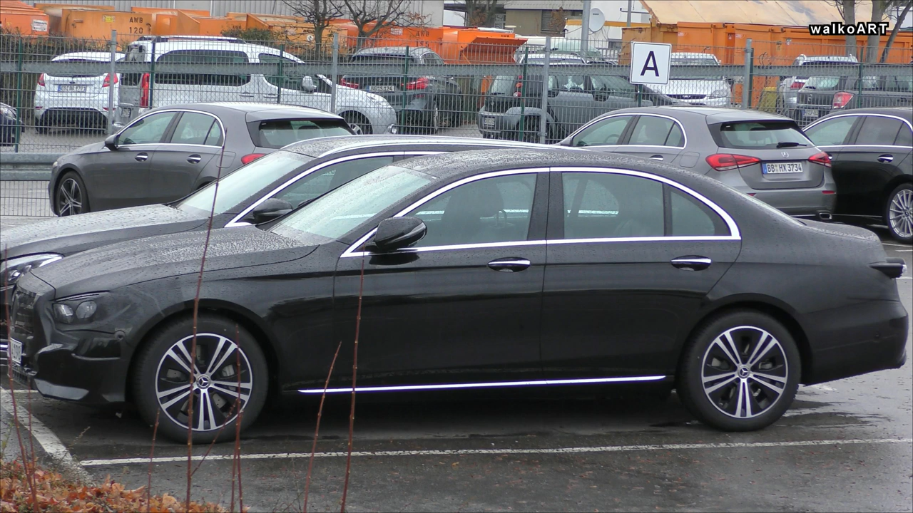 2020 Mercedes E Class Facelift Spied With New Design