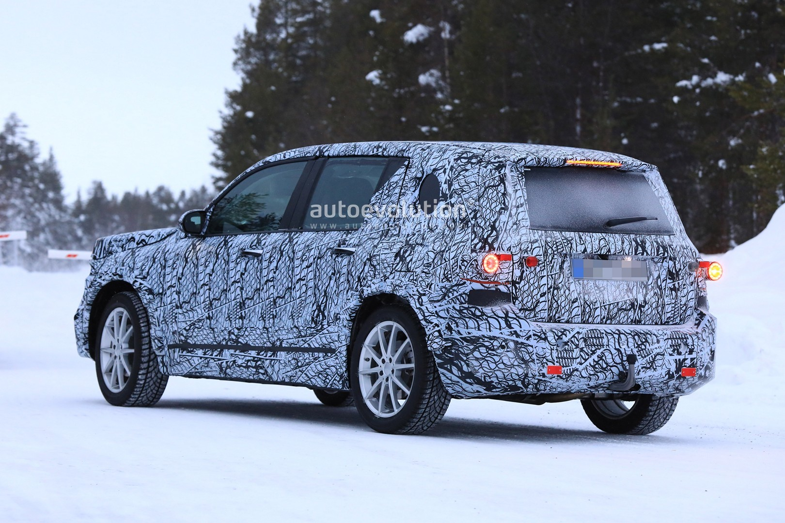 """2020 Mercedes – Benz GLG Is A """"Baby G-Class"""" SUV >> 2020 Mercedes Glb Class Spied Again Resembles The Glk"""