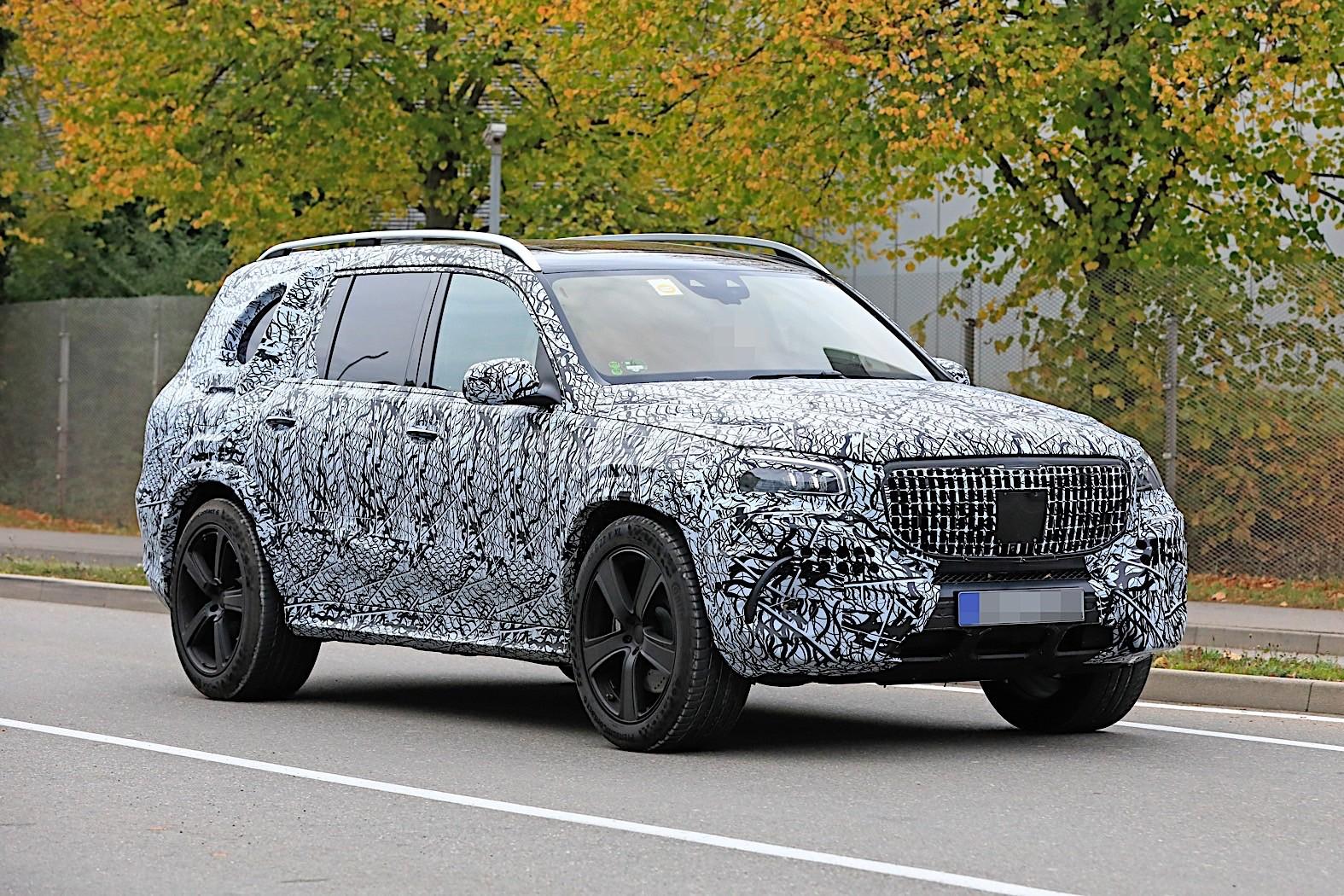 2020 Mercedes-Maybach GLS Meets Mercedes-Benz GLS in Rare ...