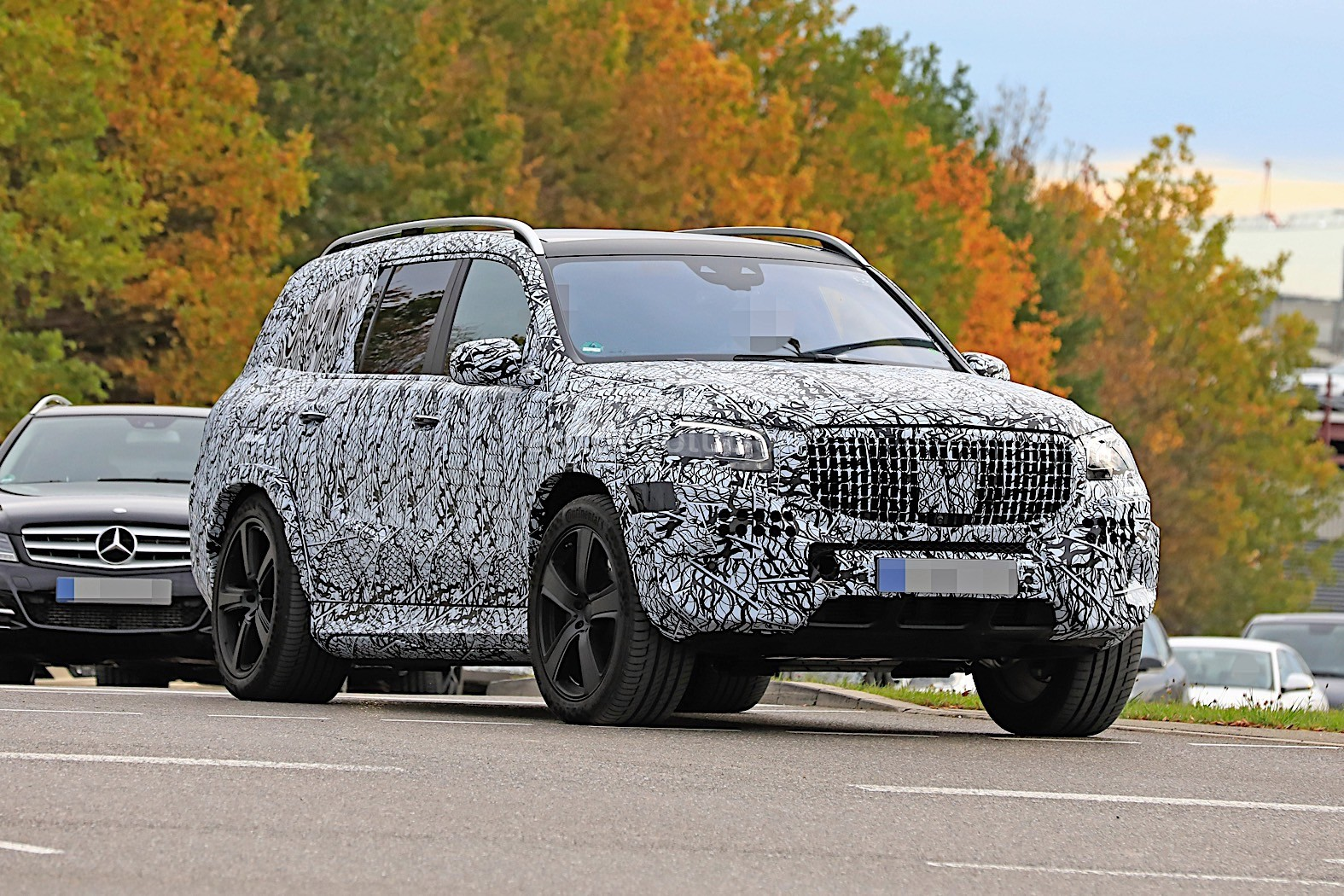 2020 Mercedes Maybach Gls Meets Mercedes Benz Gls In Rare