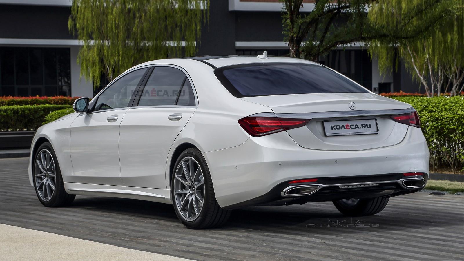 2020 Mercedes S-Class Prototype Filmed in German Traffic ...