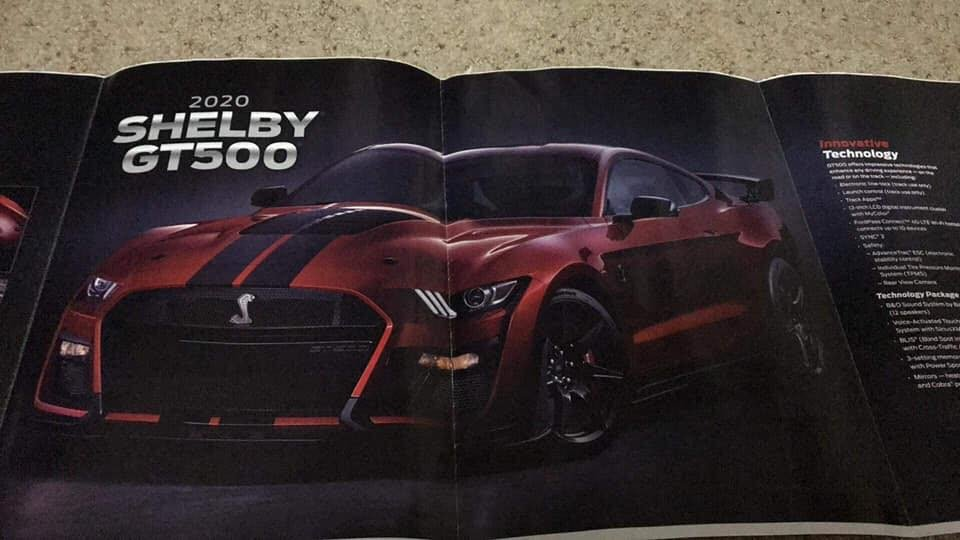 Update 2020 Mustang Shelby Gt500 Leaks Confirms Blown 5