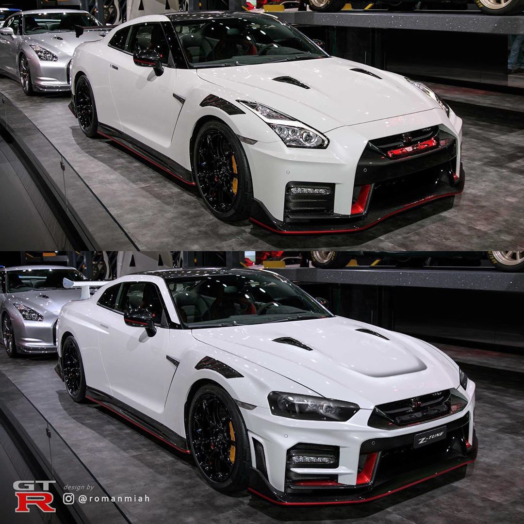 2020 Nissan Gt R Nismo Gets R34 Face Swap Looks Like A Perfect Match Autoevolution