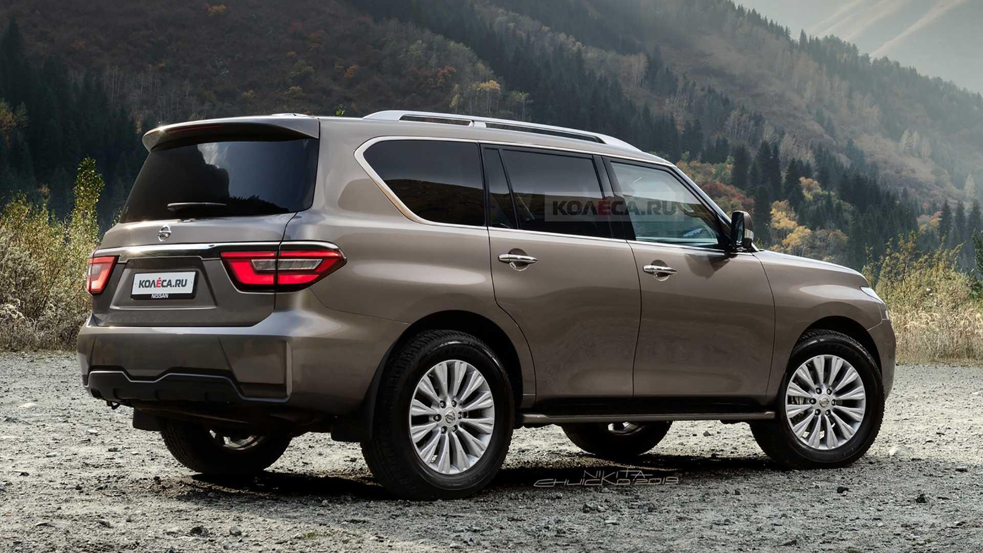 2020 Nissan Patrol / Armada Gets Accurate Rendering ...