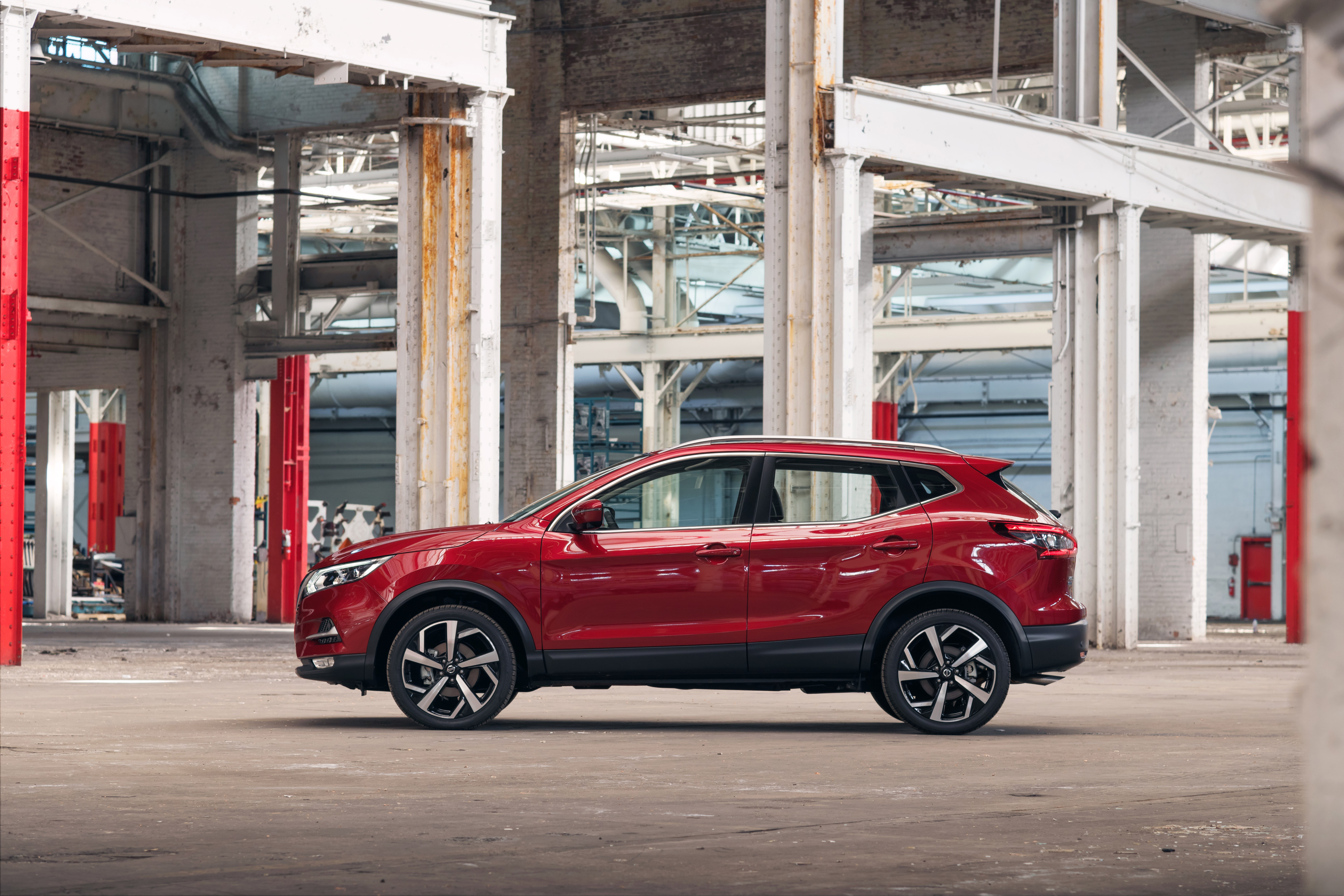2020 Nissan Rogue Sport Borrows Front Fascia From Qashqai Facelift