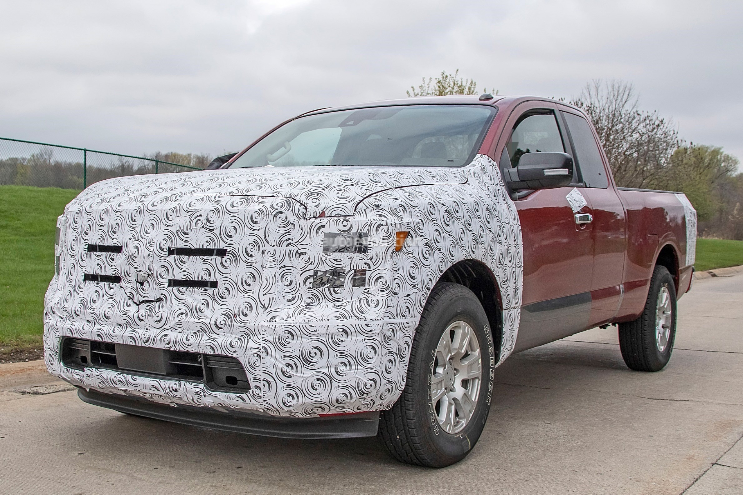2020 Nissan Titan Spied Inside And Out - autoevolution