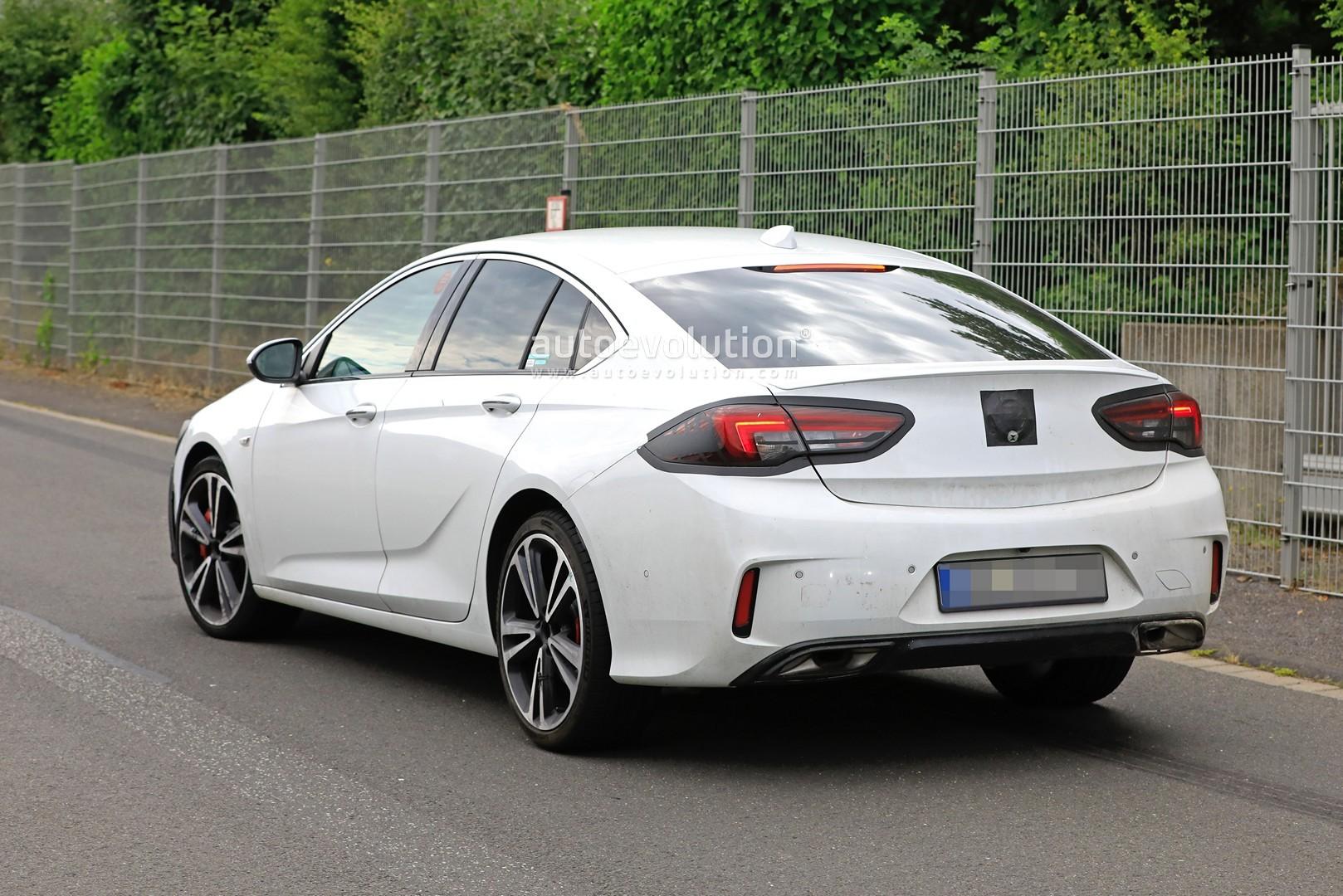 2020 Opel Insignia GSi Testing Hard at Nurburgring, Likely ...