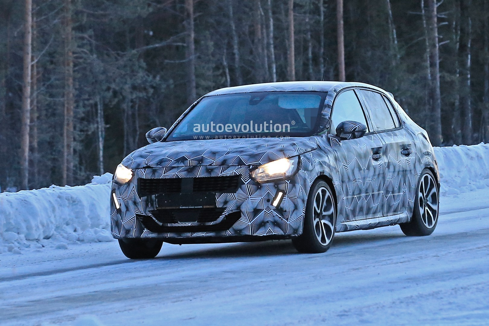 2020 Peugeot 208 Winter Spyshots Might Show GT or GTi ...