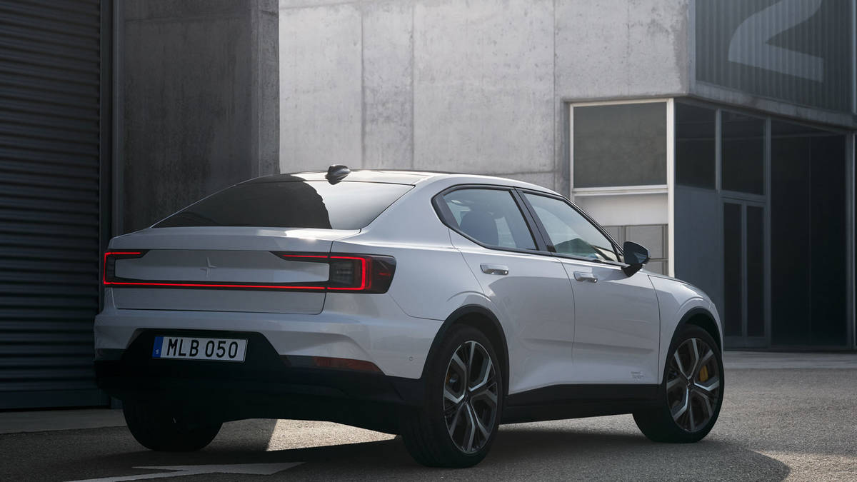 2020 Polestar 2 Leaked Ahead Of Online Premiere - autoevolution